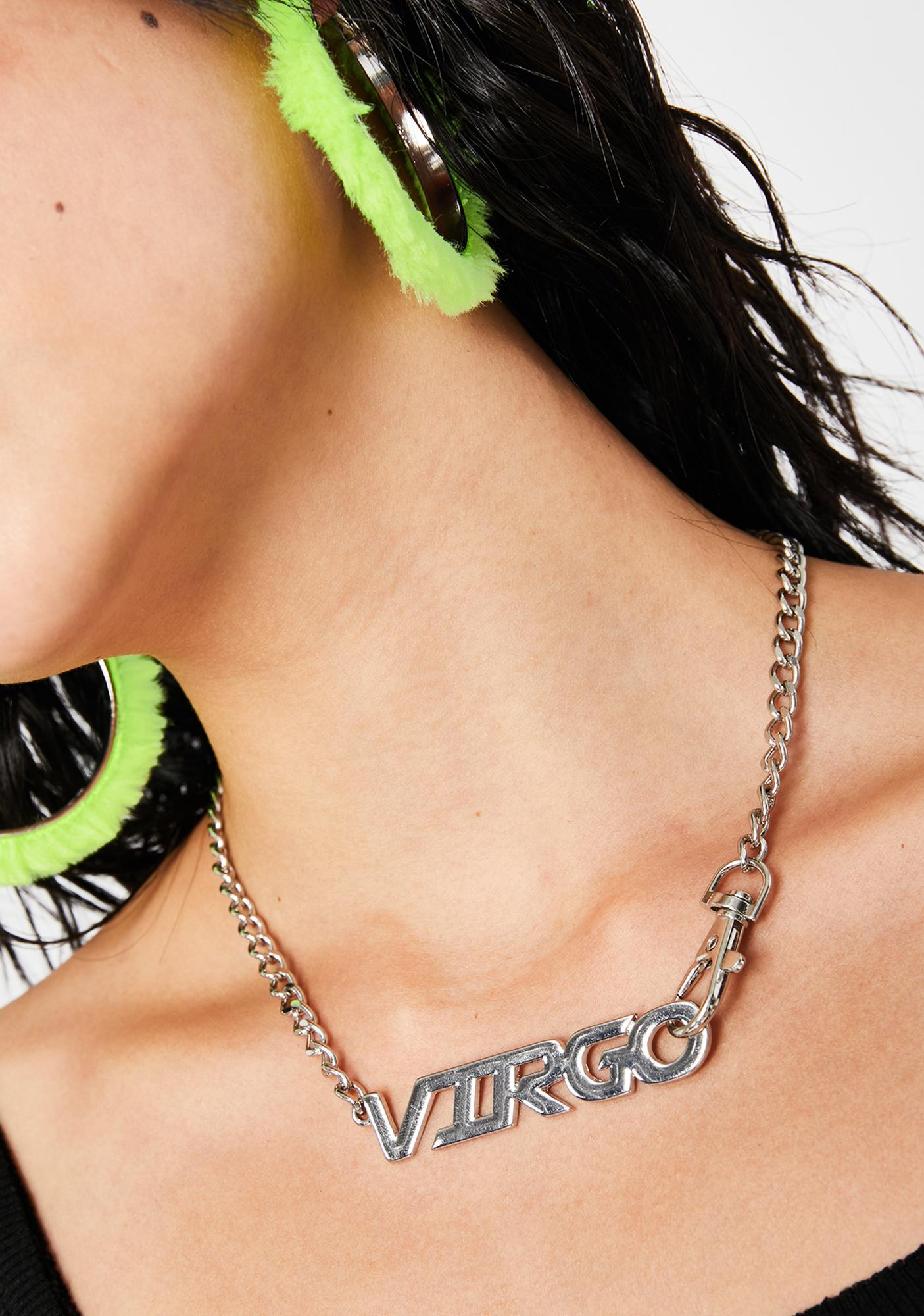 Virgo Gang Chain Necklace
