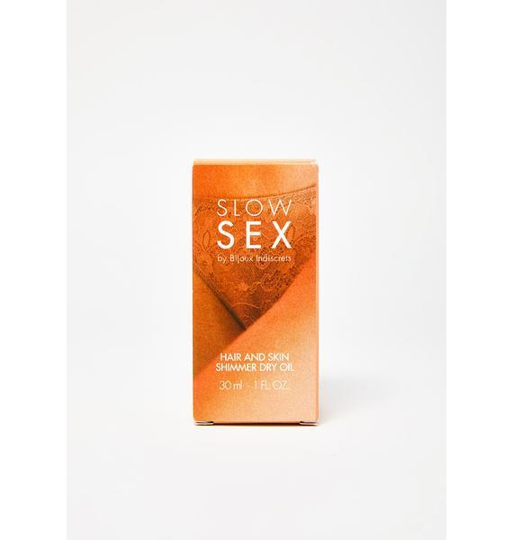 BIJOUX INDISCRETS Hair N' Skin Shimmer Dry Oil