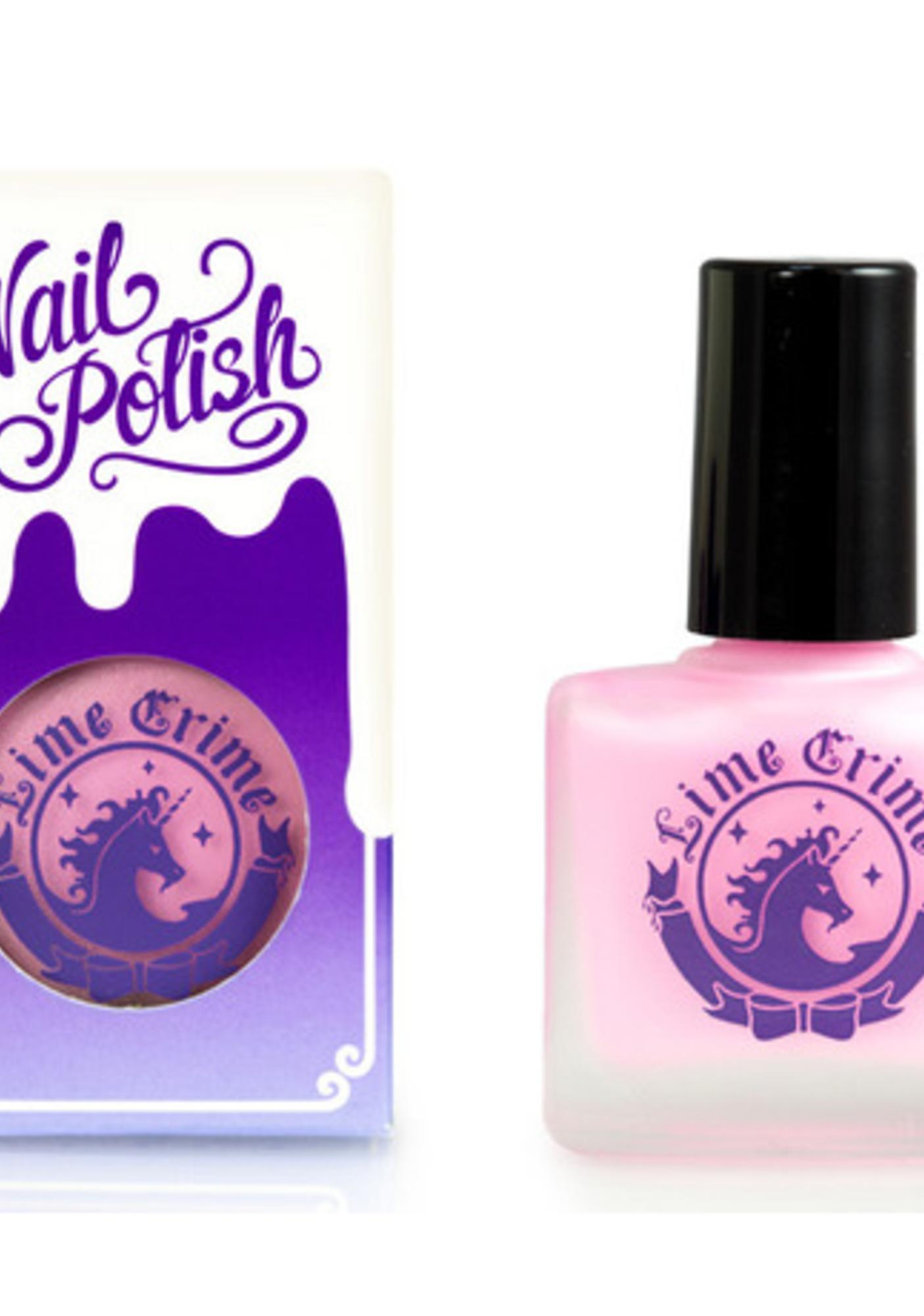 Lime Crime Parfait Day Opaque Nail Polish