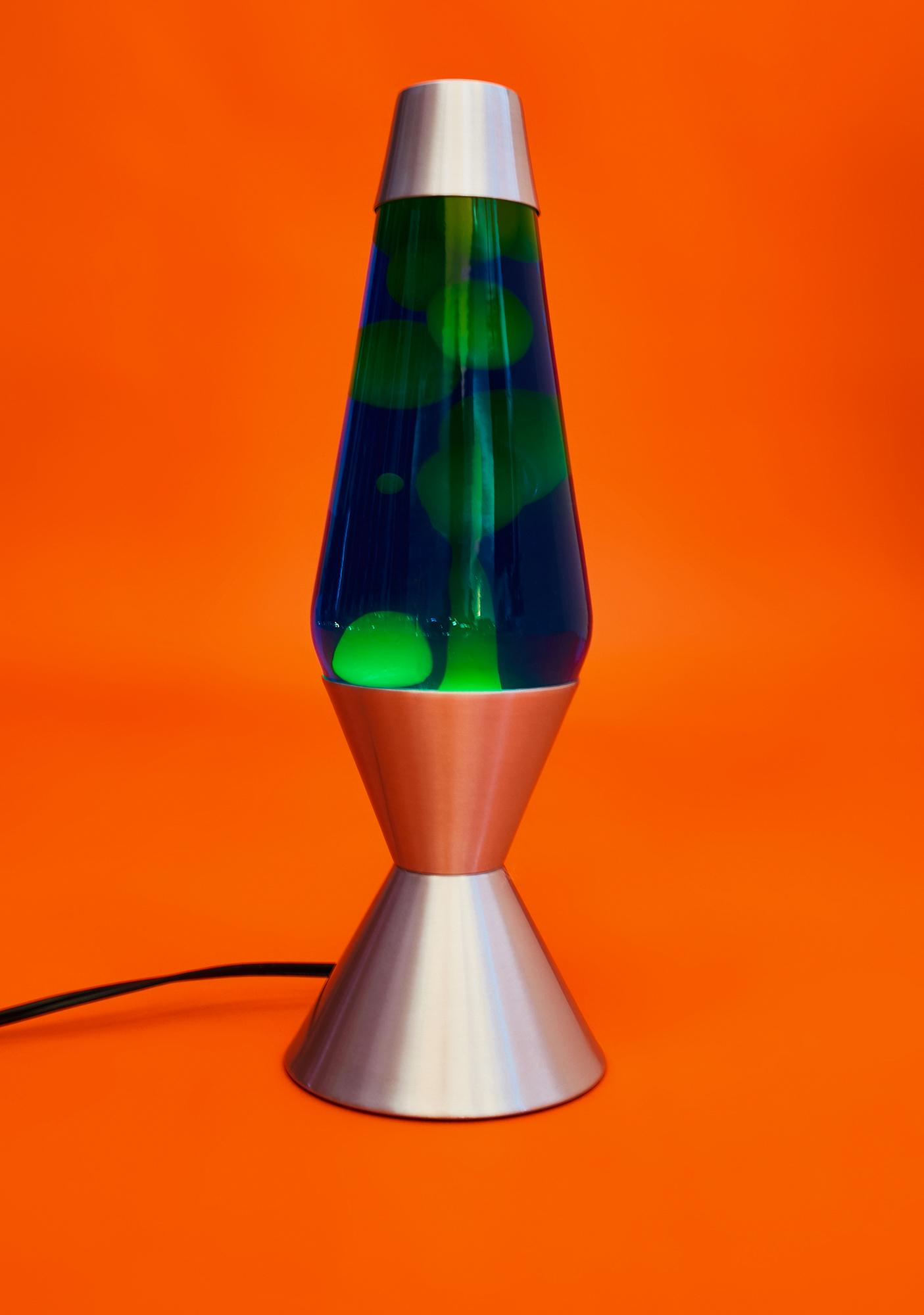 "LAVA Blue And Yellow 16.5"" Lava Lamp"