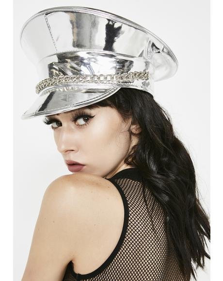 Chrome Mischief N' Mayhem Captain Hat