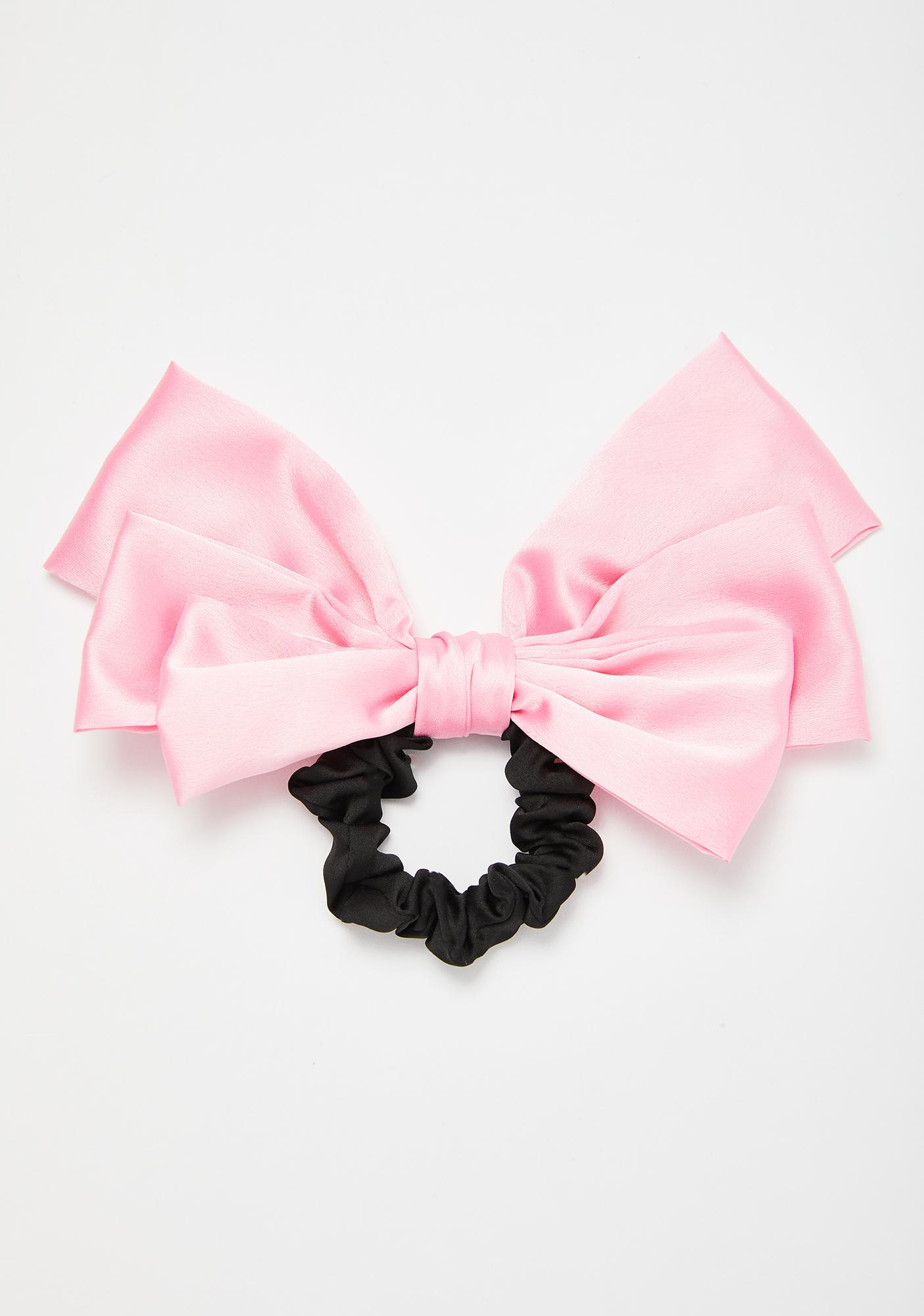 Sweet Overachiever Bow Scrunchie