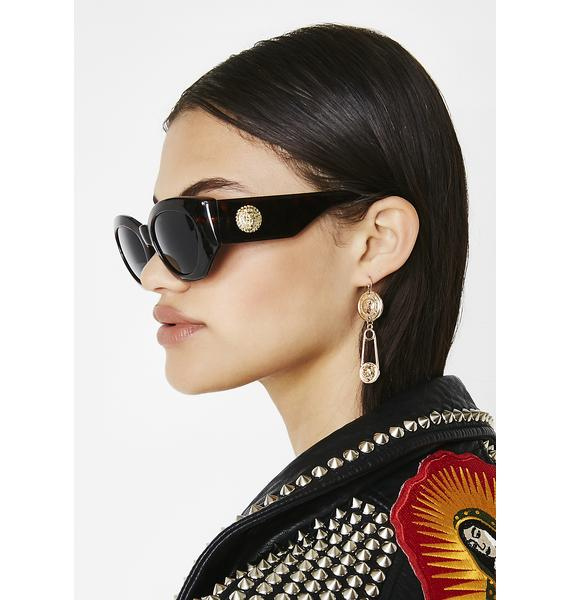 Lioness Tortoiseshell Sunglasses