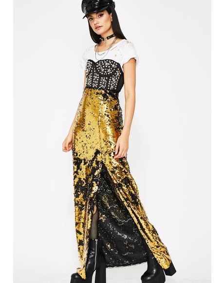 Goldie Forever Shinin' Sequin Skirt