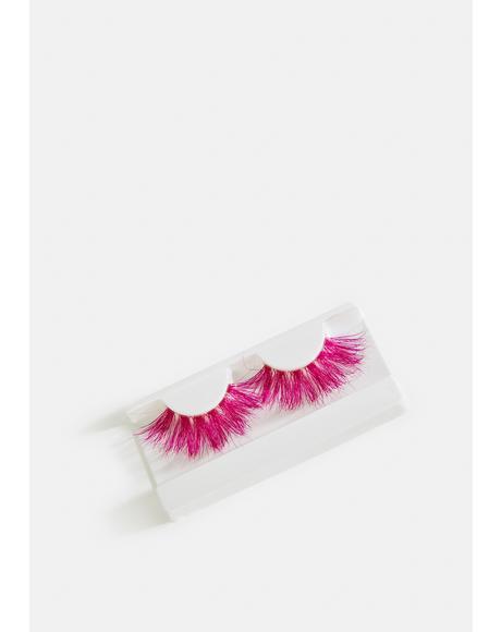 Pink Slushee Faux Mink Eyelashes