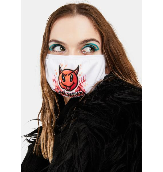 Current Mood First Offense Airbrush Face Mask