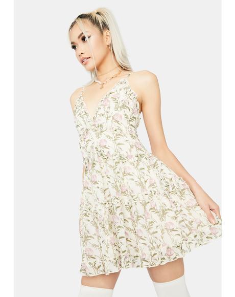Pixie Chaser Babydoll Dress