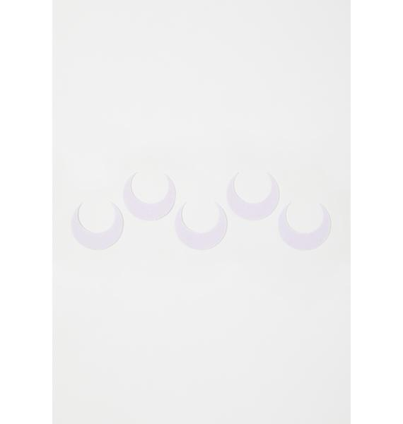 Magic Markings White Large Luna Face Stickers