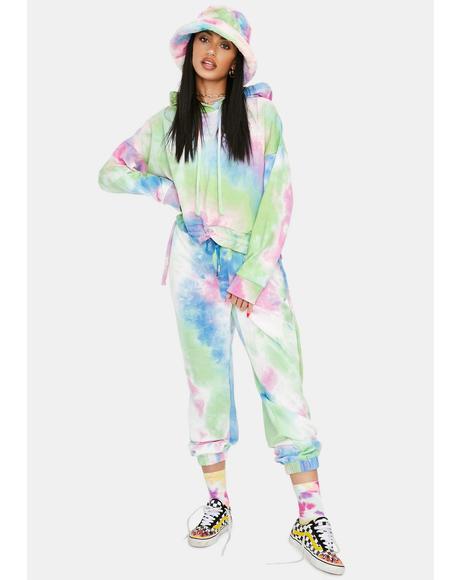 Tease Me Tie Dye Sweatpants
