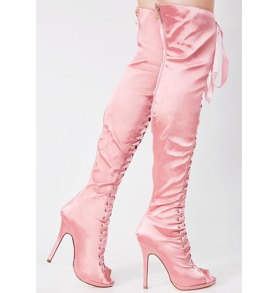 Playful Love Thigh High Boots