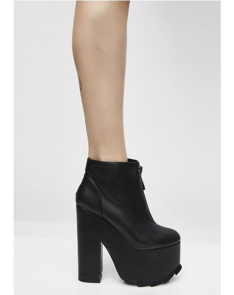 REM Nightmare Platform Booties