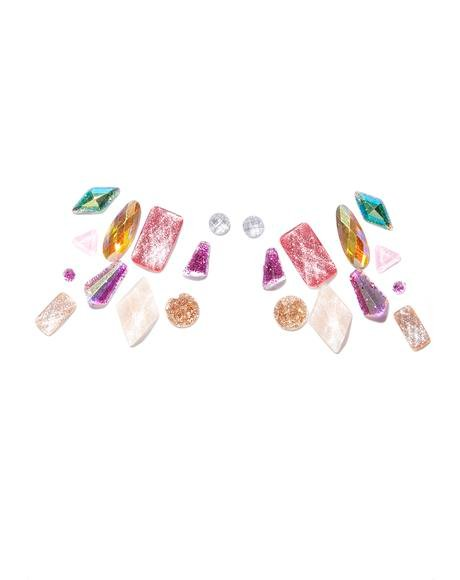 Mermaid Stick-On Gems