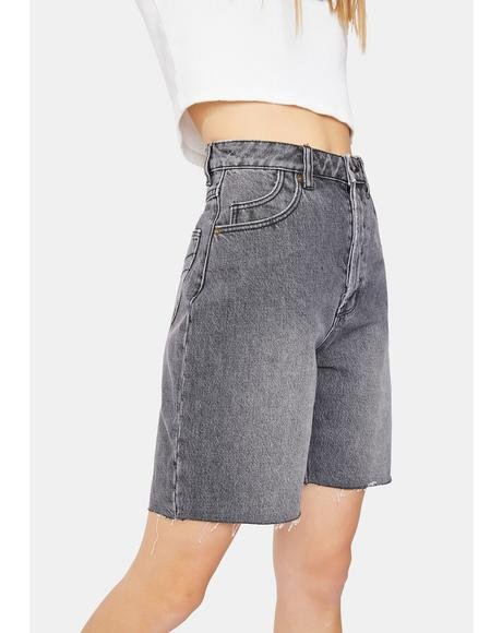 Classic 90s Cutoff Denim Shorts