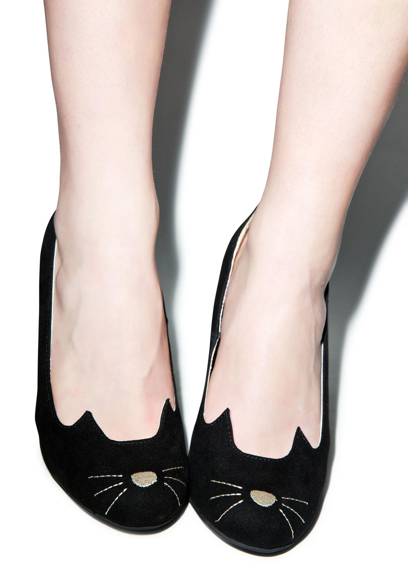 T.U.K. Sophistakitty Heels