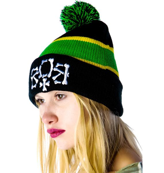 Hellz Bellz x Belle of the Brawl City of Gawd Beanie