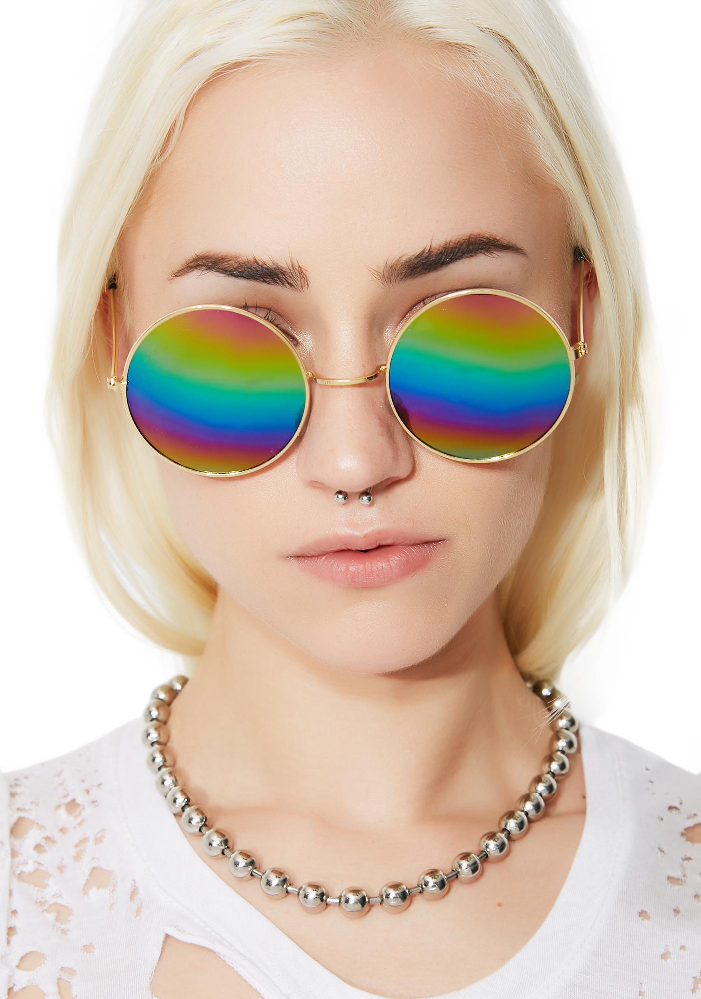 Petals and Peacocks Mathilda Sunglasses