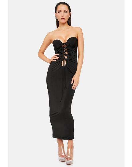 Always Want More Tube Maxi Dress