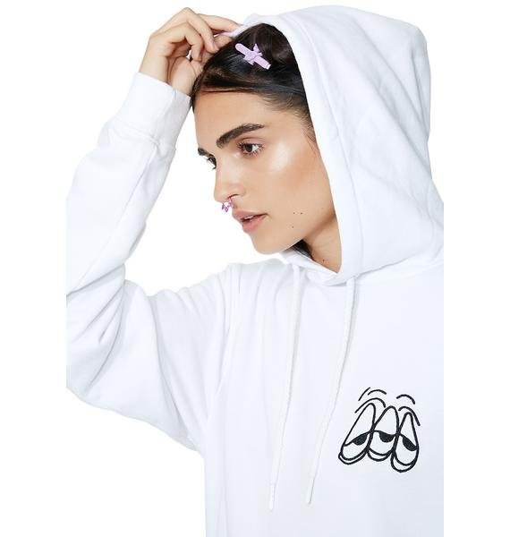 Lazy Oaf Bad For Your Brain Hoodie