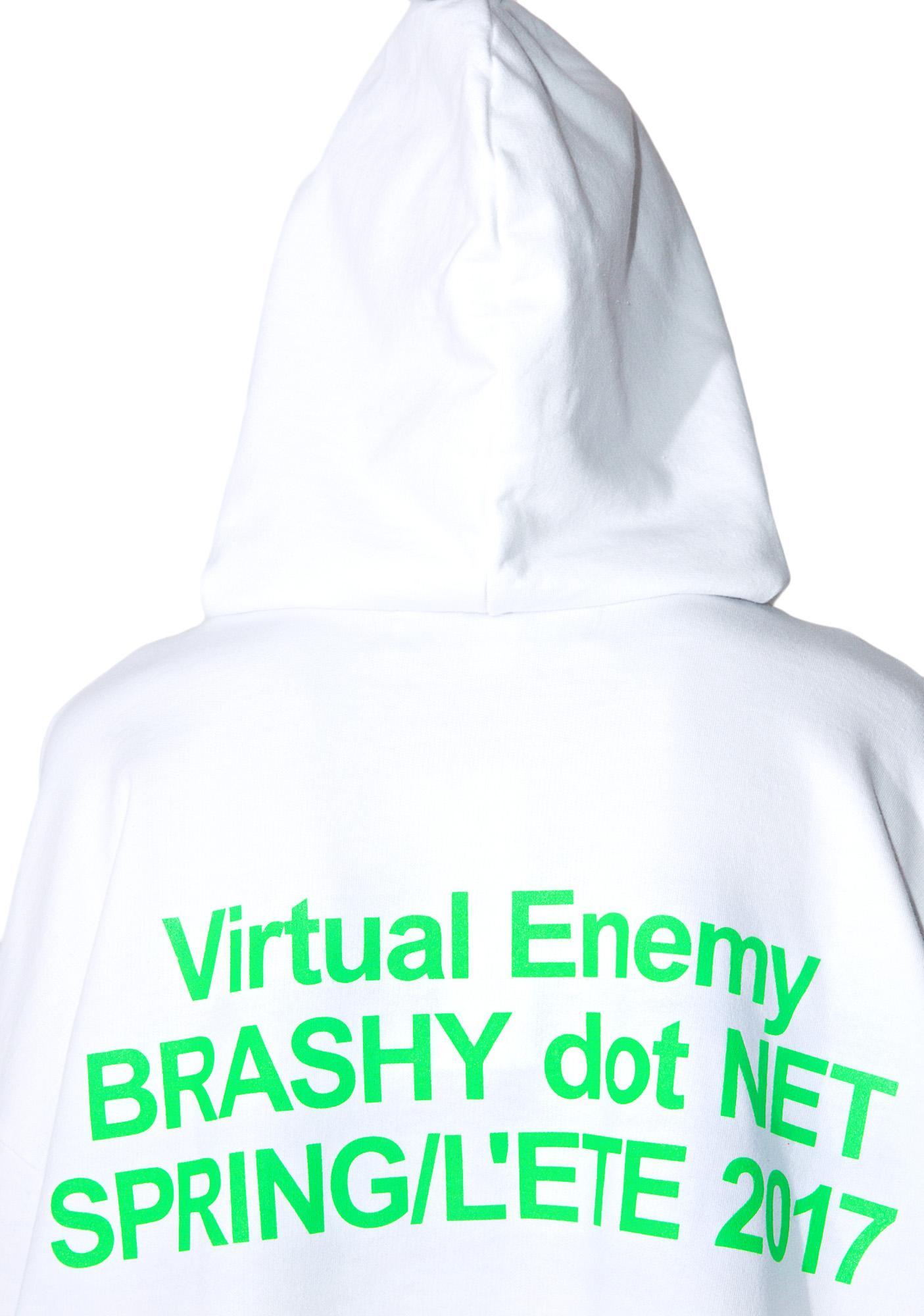 Brashy Virtual Enemy Hoodie