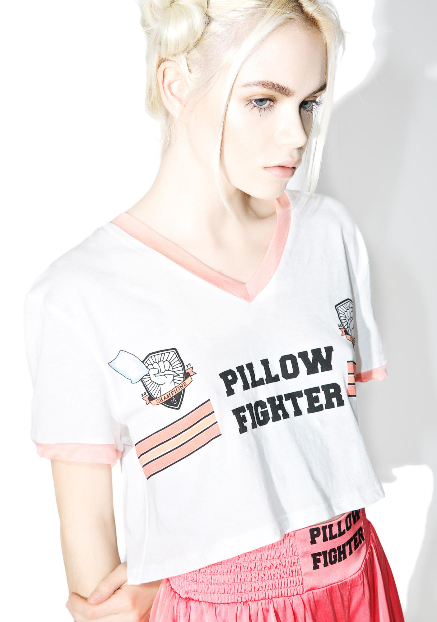 Mink Pink Pillow Fighter Tee
