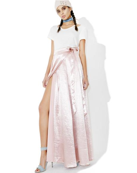 Adagio Satin Wrap Skirt