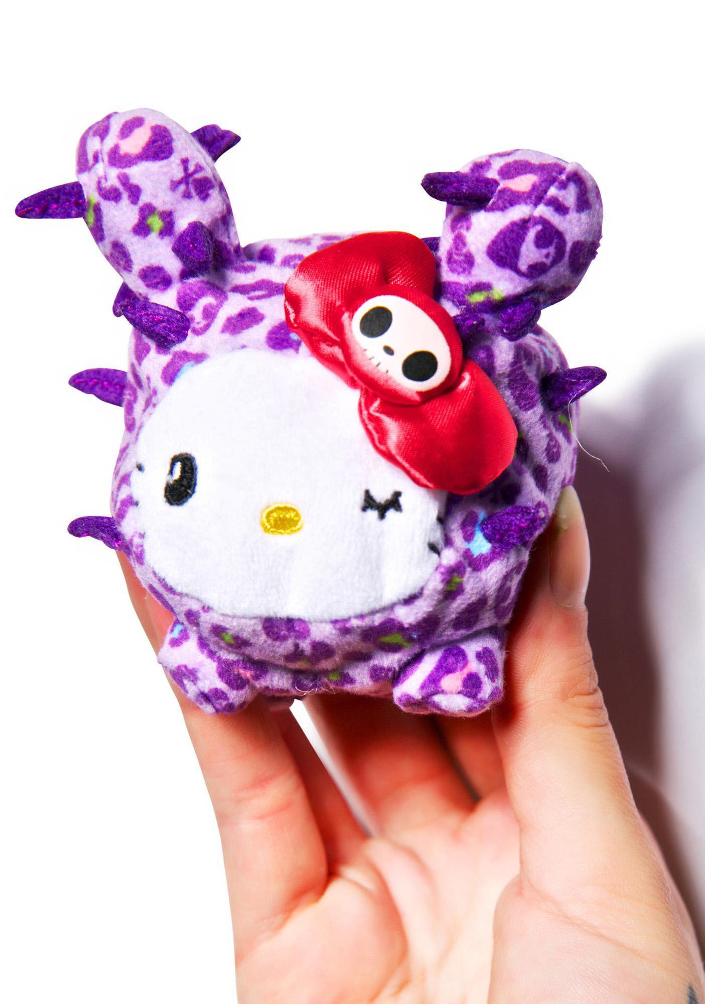 Sanrio Tokidoki X Hello Kitty Summer Safari Cactus Kitty Bean Doll