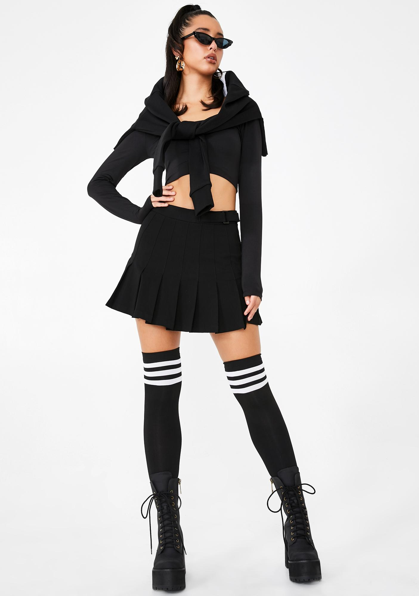 Poster Grl Burn Book Pleated Skirt