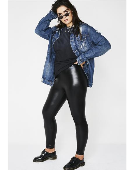 Paint The Town Metallic Leggings