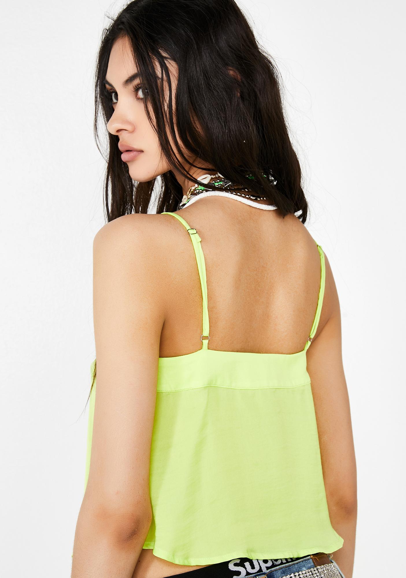 Short Fuse Neon Cami