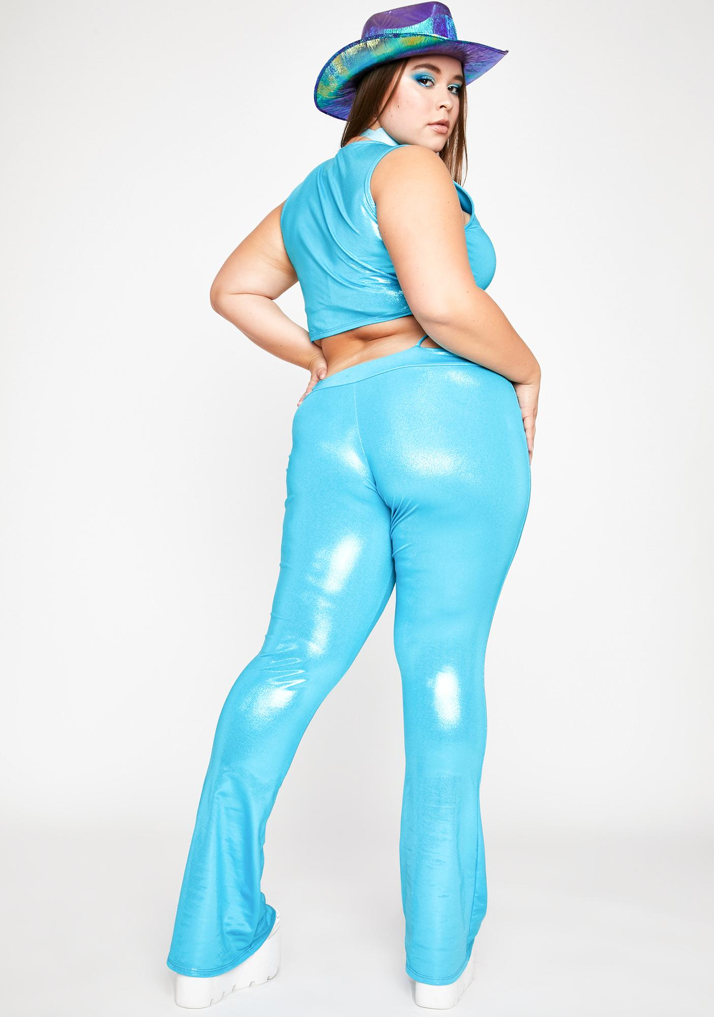 Aqua Got Nuclear Waves G-String Pants