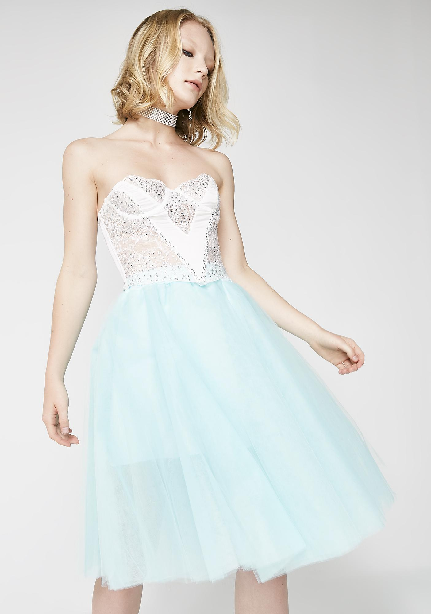 Mint Dark Magick Tulle Skirt