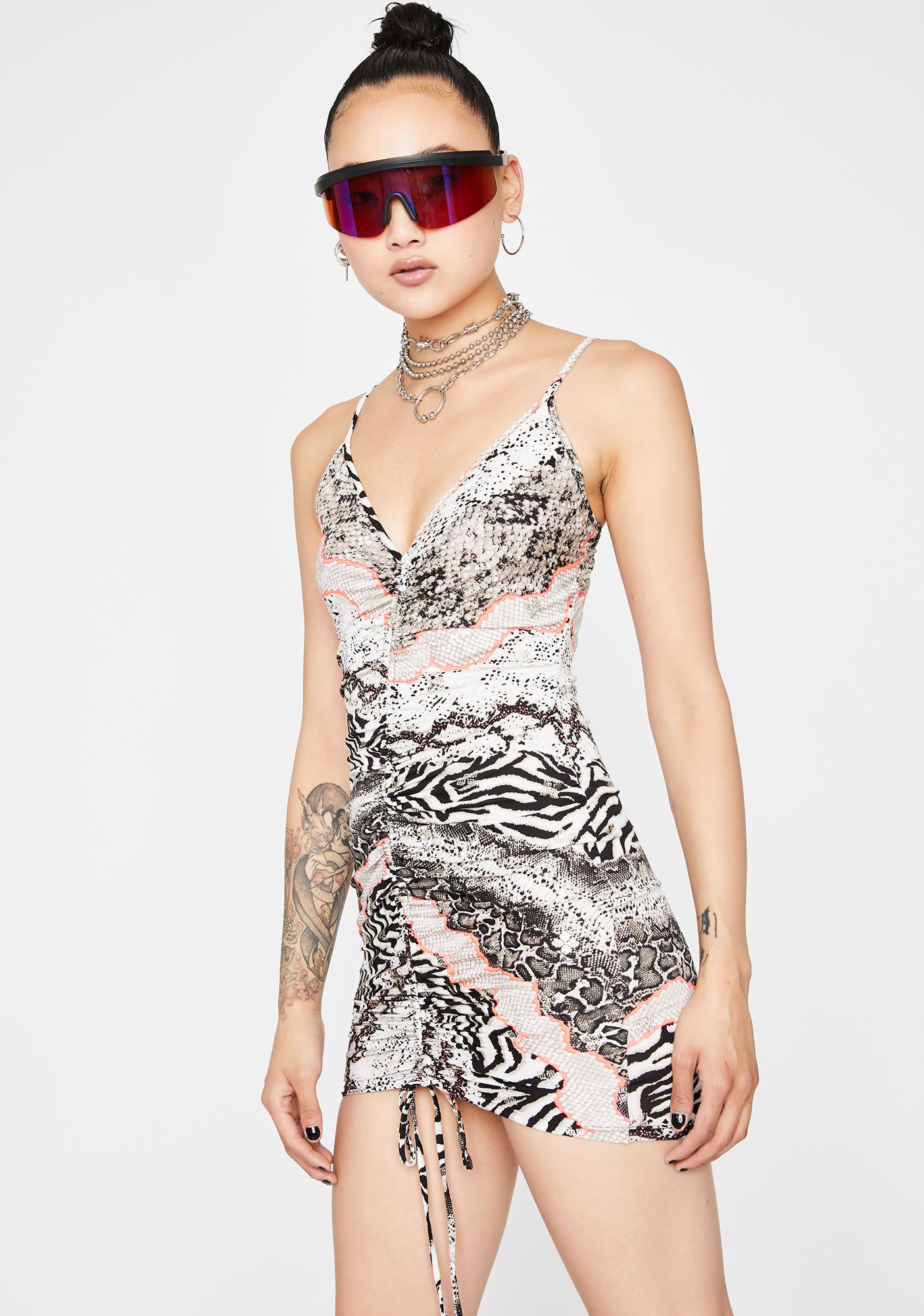 Shapeshifter Mini Dress