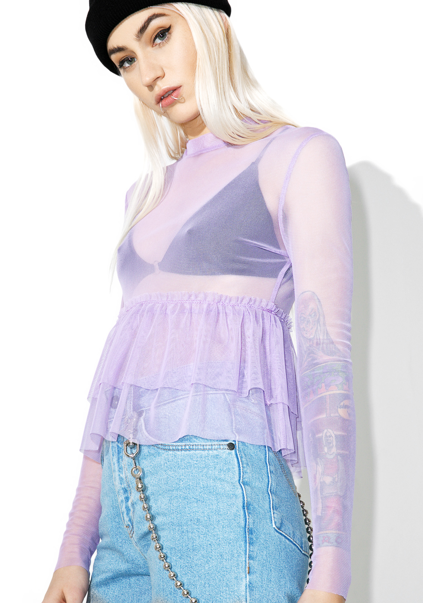 The Ragged Priest Parma Top