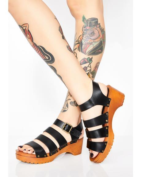 Love Supreme Platform Sandals