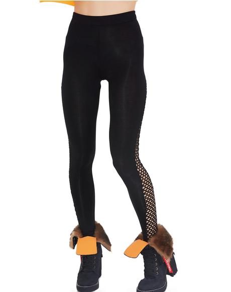 On The Run Mesh Leggings