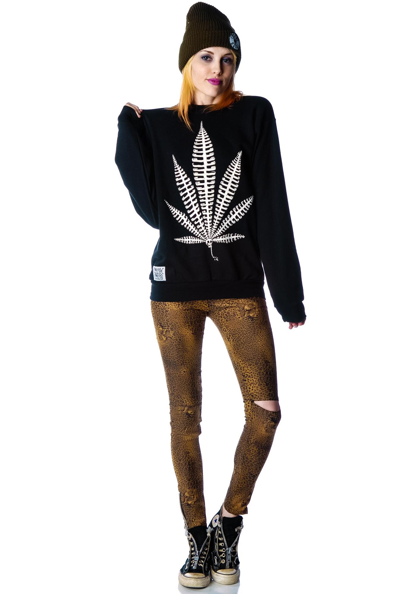 Weed Bone Sweatshirt