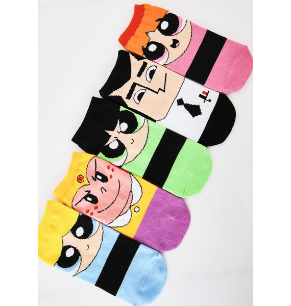 Super Friends Sock Set