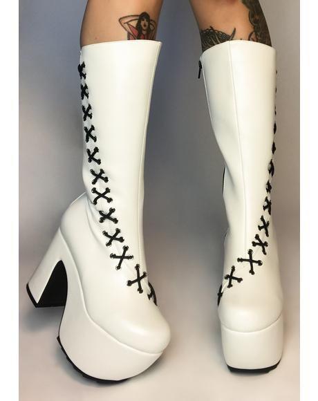 Pure New Heights Lace Up Boots
