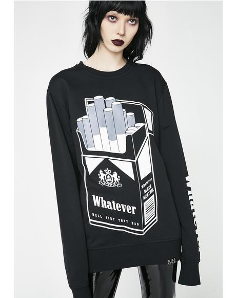 Black Menthol Sweatshirt