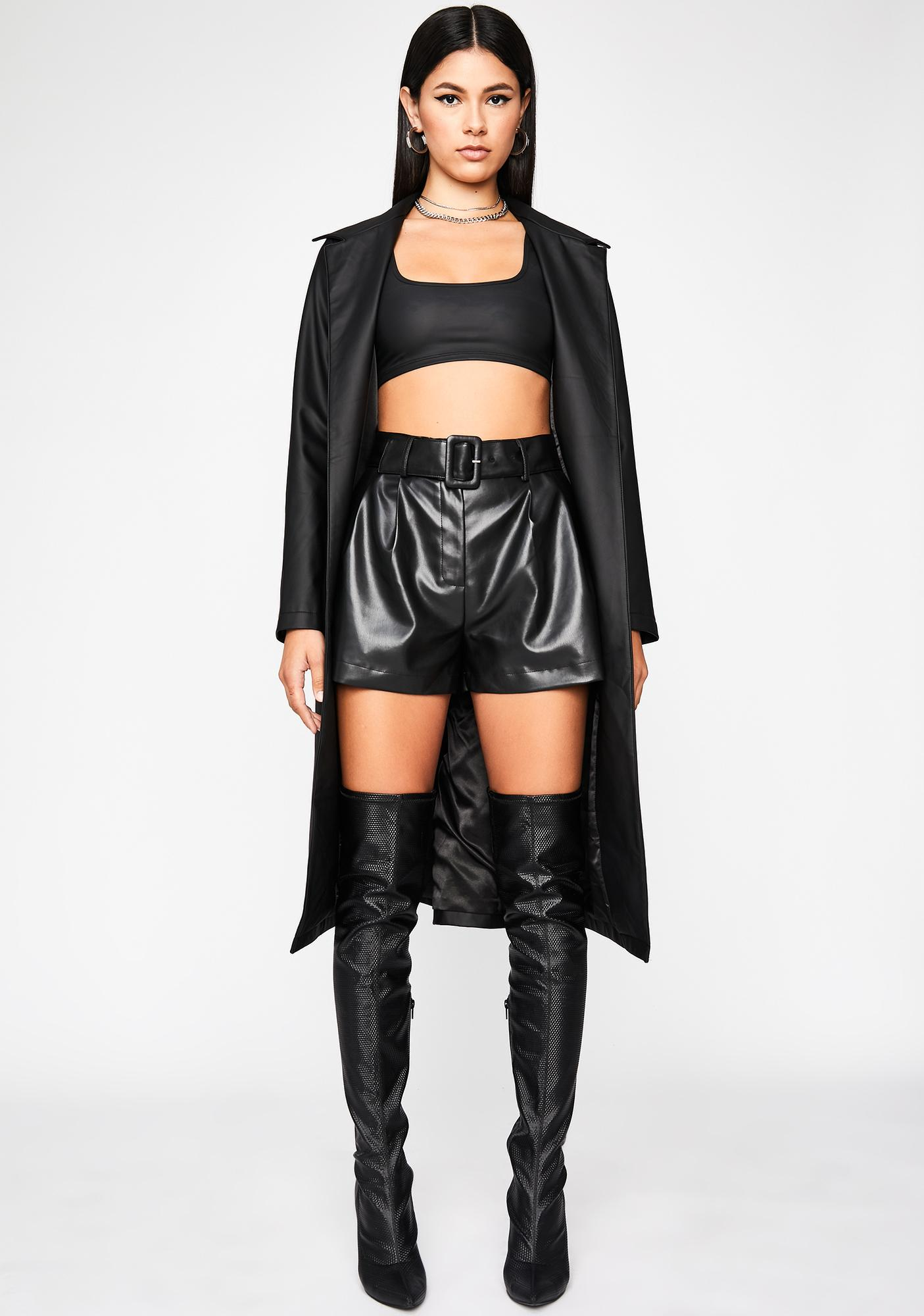 Hardcore Honey Paper Bag Shorts