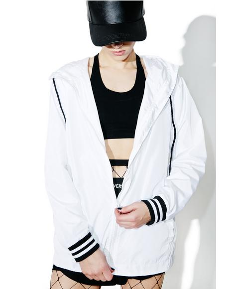 Hood Windbreaker Jacket