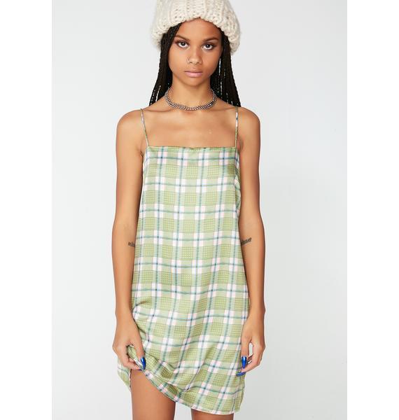 Glamorous Feelin' Brand New Checkered Dress