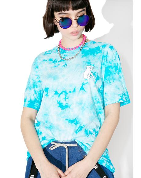 Tie Dyed Cats Tee