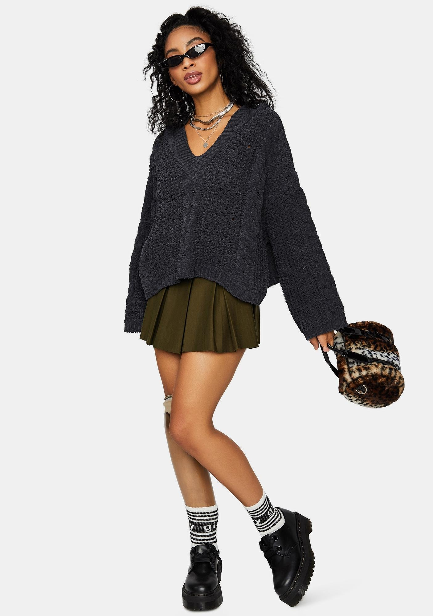 Casual Clout Boxy Hoodie Sweater