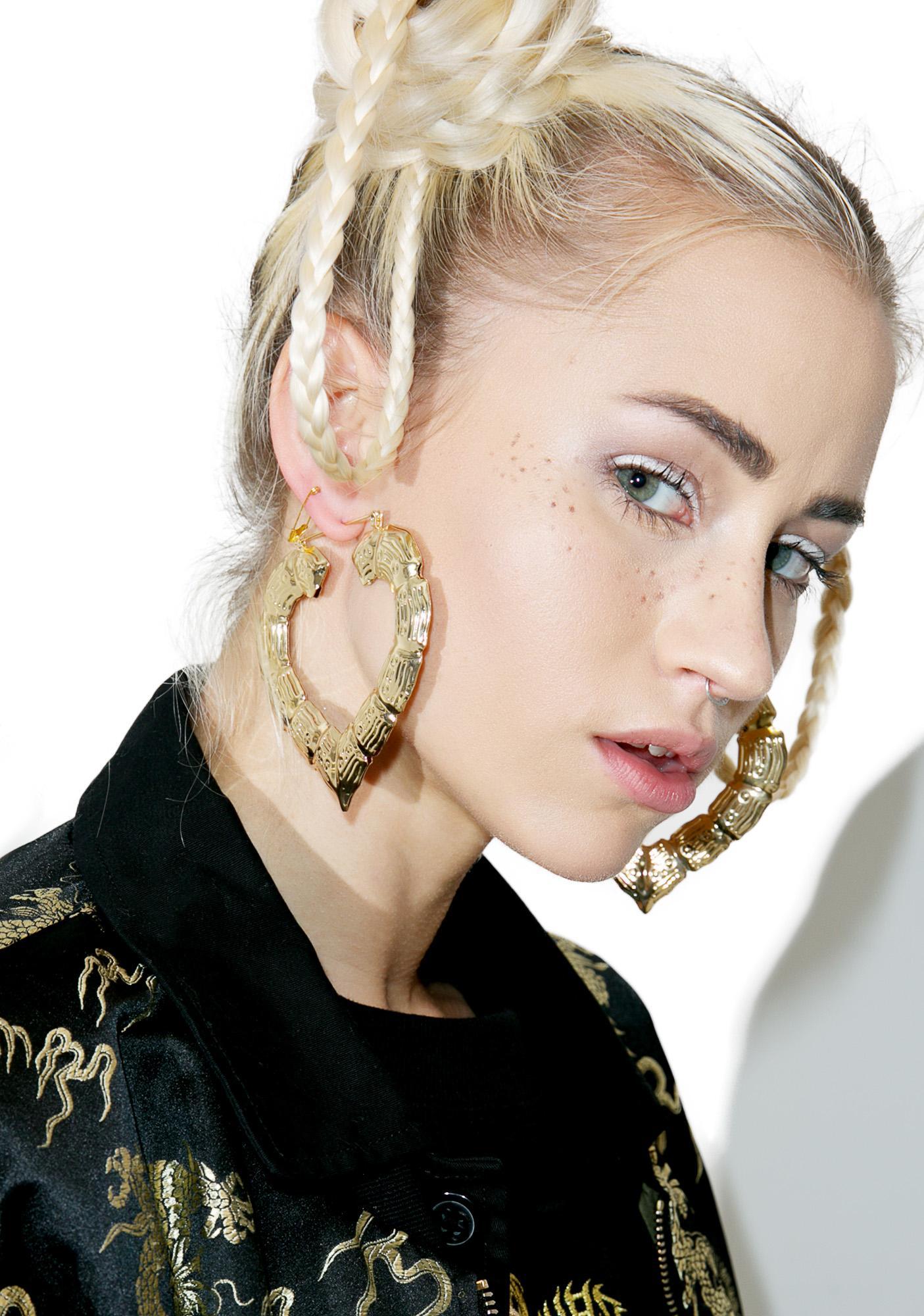 Knock Em Down Earrings