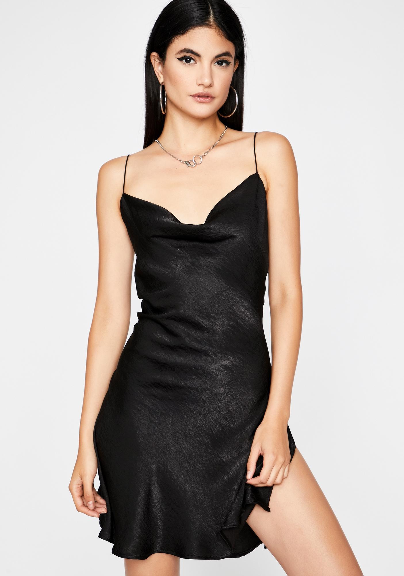 Naughty Subtle Temptations Mini Dress