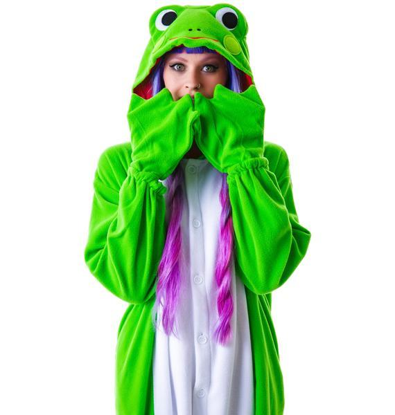 Sazac Kigurumi Frog