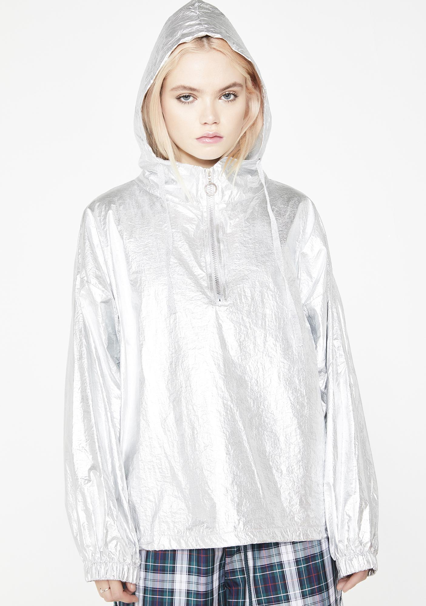 Outerworld Metallic Windbreaker