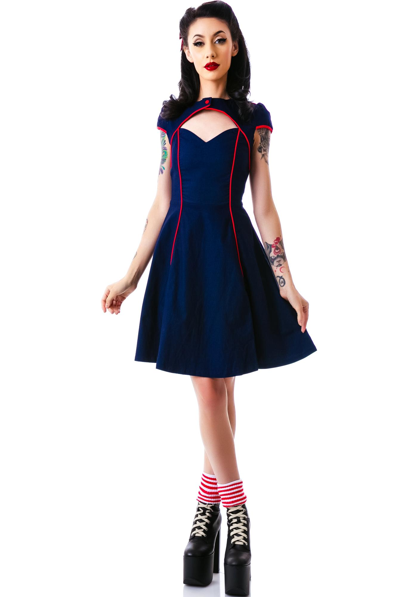 Sourpuss Clothing Gil Dress