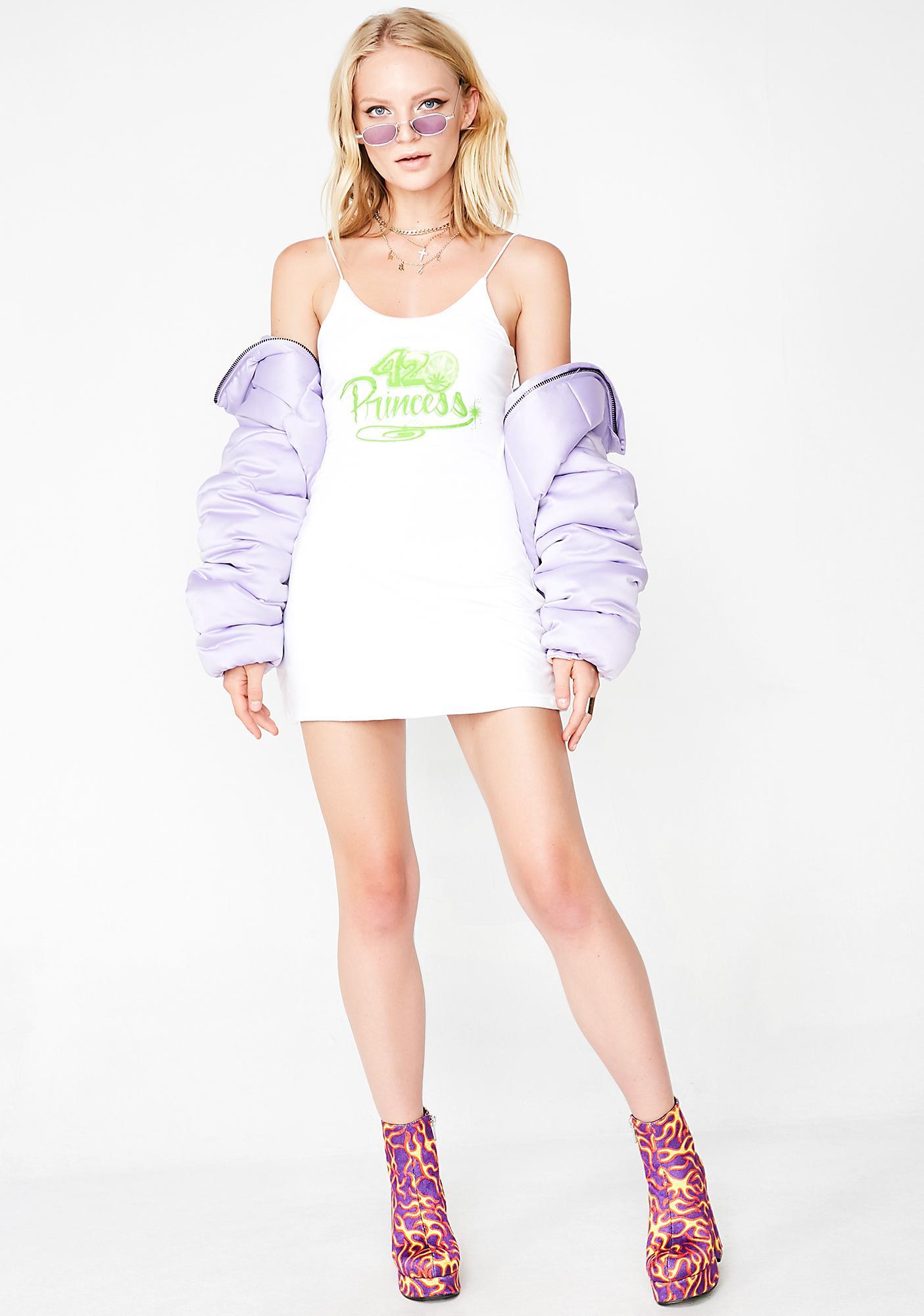 O Mighty 420 Princess Mini Dress